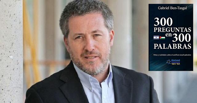 """Se edita en España """"300 preguntas en 300 palabras"""", con su autor Gabriel Ben Tasgal"""