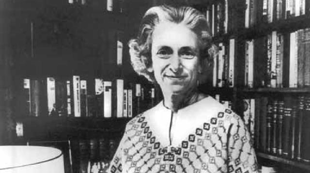 Barbara W. Tuchman, historiadora, periodista y Premio Pullitzer