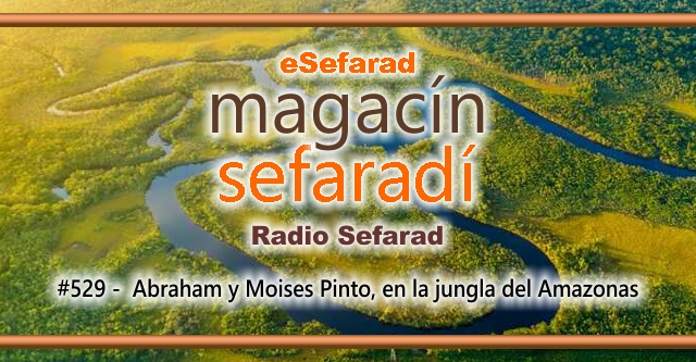 Abraham y Moisés Pinto en la jungla del Amazonas