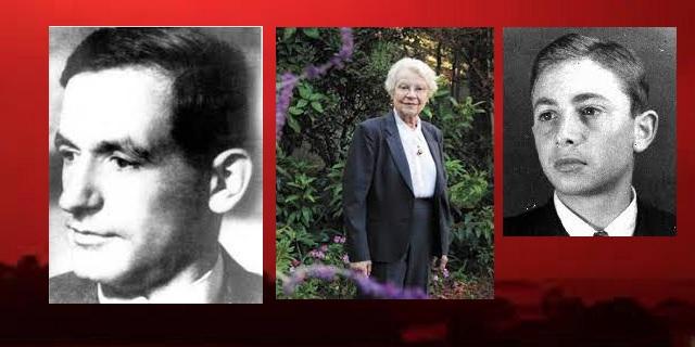 En nuestra memoria Julius (Julo) Levin, Barbara Ledermann y Arthur Menke