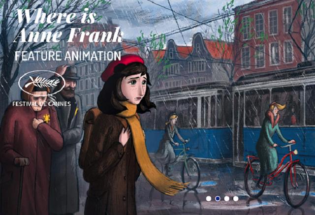 'Where is Anne Frank', la última película de Ari Folman